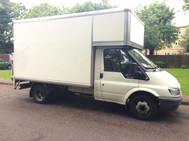 Man with Large Van (Boxed Luton) - Birmingham