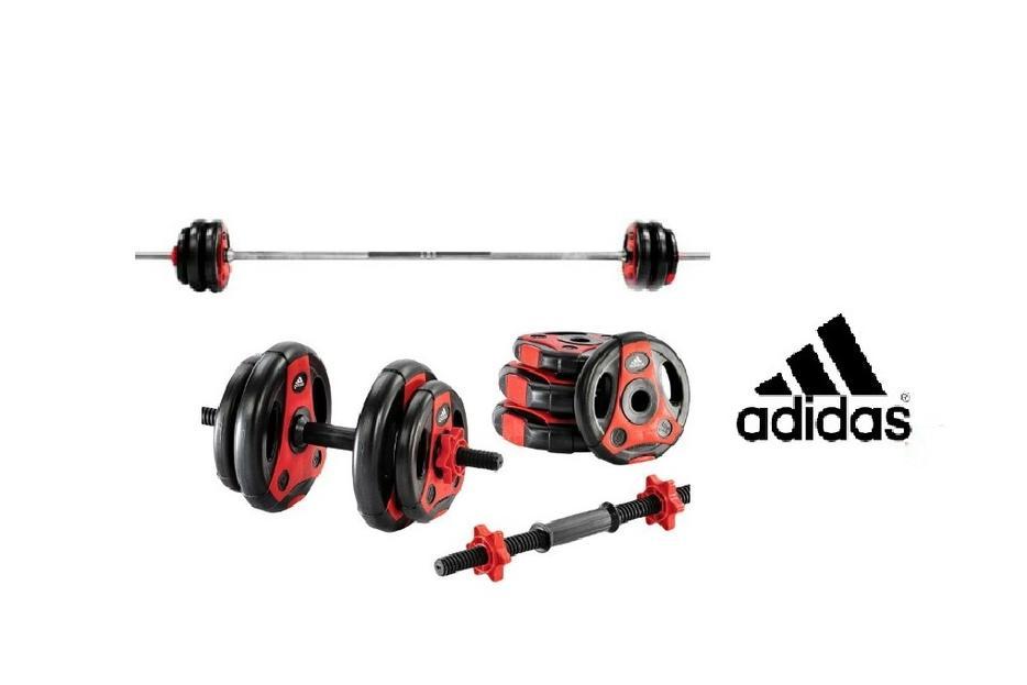 Húmedo Guardería Rápido  Adidas Barbell Set - 50kg brand new boxed RRP £90.99 Outside Black Country  Region, Wolverhampton