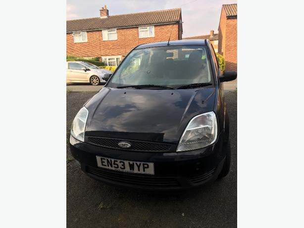 ford fiesta 1.25 finesse. Reg 2004. Mot April 2018