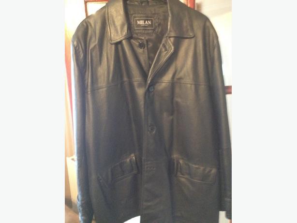 Leather jacket xxl good con