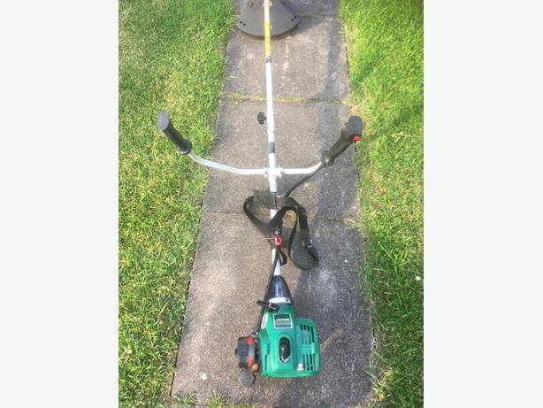 Petrol Strimmer with Harness