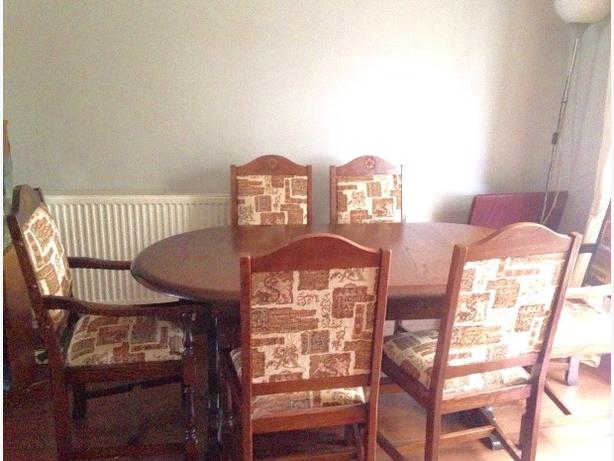 Vintage style table and chairs