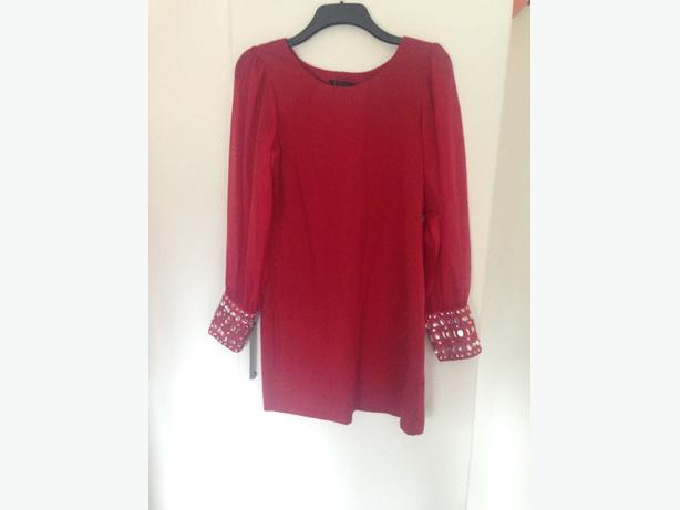 Stunning red dress size 16