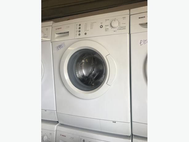 VERY CLEAN AND TIDY BOSCH WASHING MACHINE 🇬🇧🇬🇧