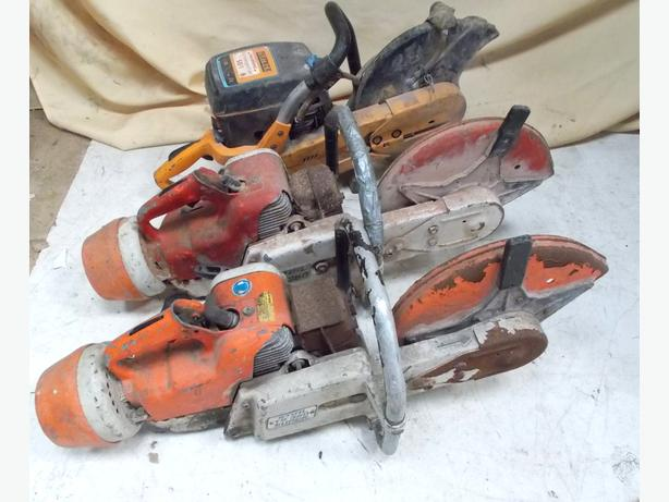 Joblot of 3 STILL Saws Spares or Repairs