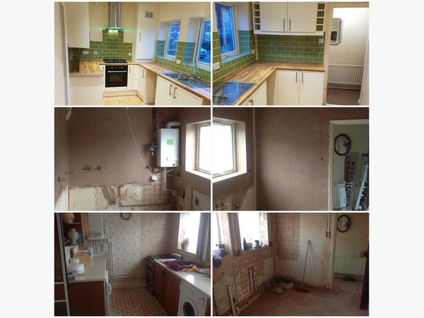 Kitchens and Bathrooms - Refurbs and repairs