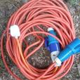 electric hook up lead