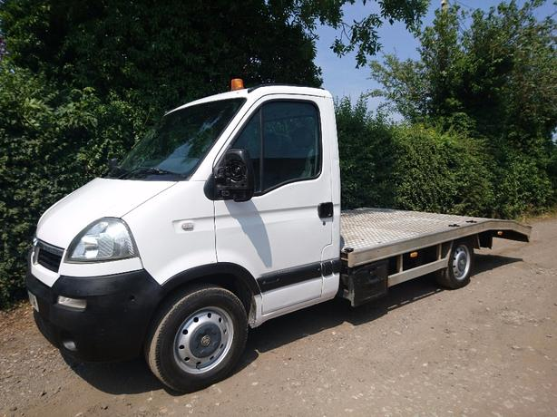 2006, 06 reg vauxhall Movano 2.5dti transporter recovery truck 1 owner
