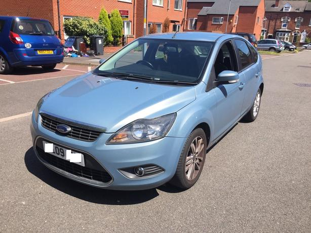 2009 09 FACELIFT FORD FOCUS 1.6 TDCI STYLE TD FULL SERVICE HISTORY