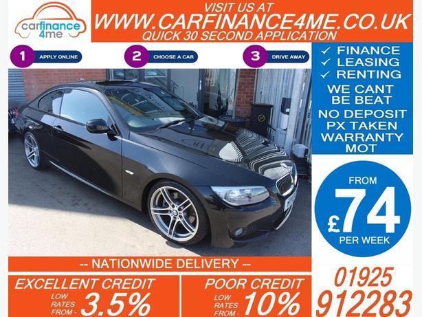 2013 BMW 330D 3.0 M-SPORT AUTO DIESEL COUPE 40K