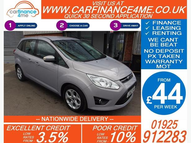 2012 FORD GRAND C-MAX 1.6 ZETEC PETROL MANUAL MPV 48K