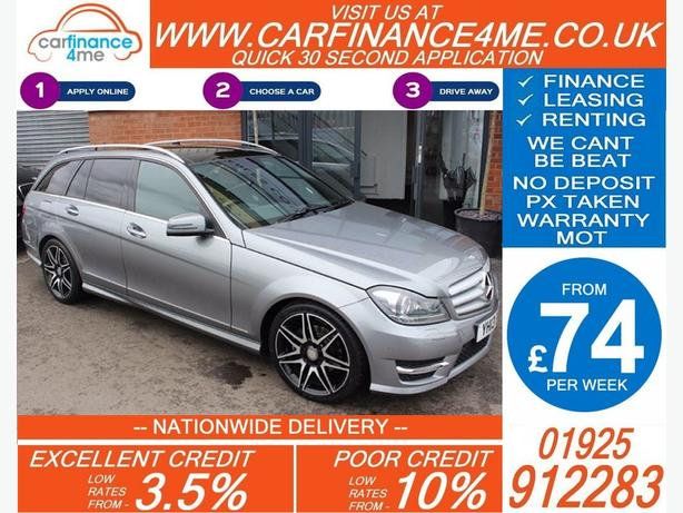 2013 MERCEDES C250 BLUEEFFICIENCY AMG SPORT DIESEL ESTATE 39K