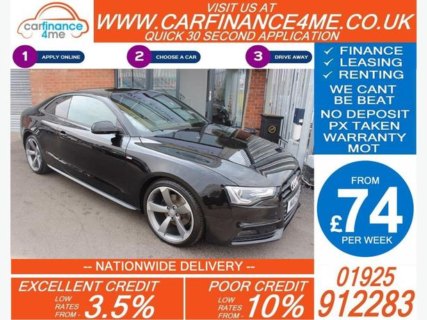 2012 AUDI A5 2.0 TDI S-LINE BLACK EDITION MANUAL COUPE 35K