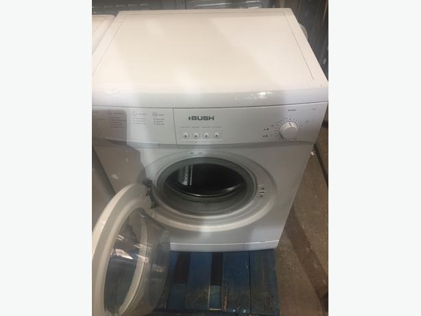 BUSH WHITE WASHING MACHINE 6KG A+ A126Q