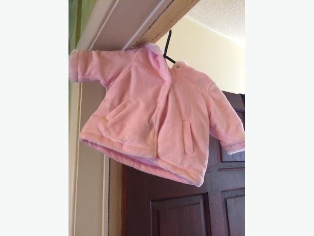 pink baby coat