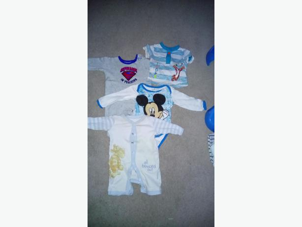 Mix items for baby boy