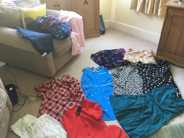 size 14 bundle of clothes