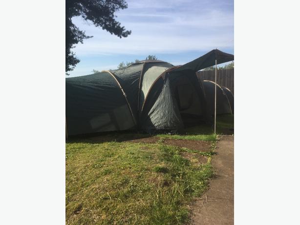 mint 9 man pro action tent(huge)