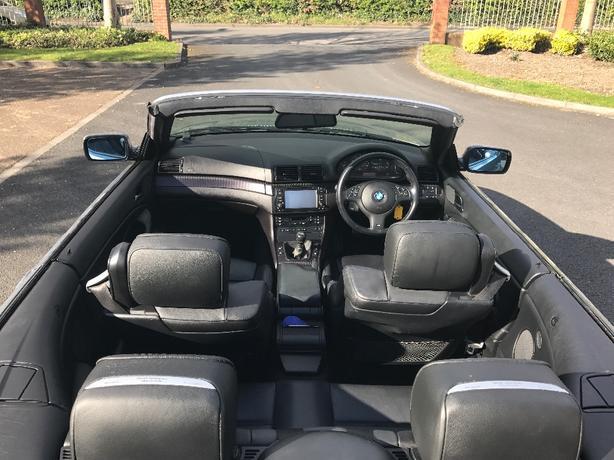 BARGAIN MINT BMW CONVERTIBLE FRESH MOT LOW MILES OFFERS