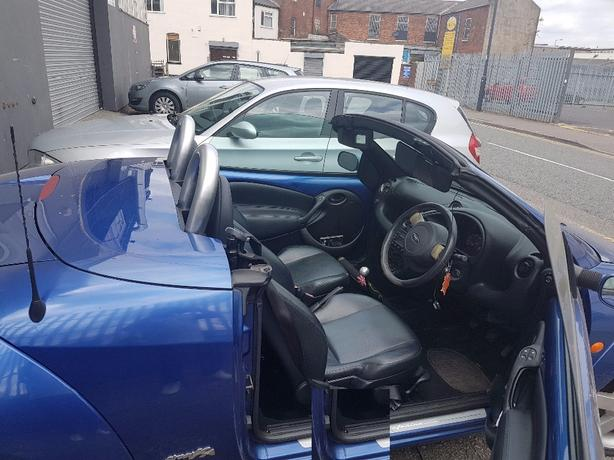 2003 FORD STREET KA CONVERTABLE FULL LEATHER LOOKS DRIVES GOOD