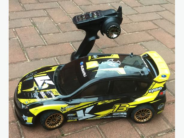 Kyosho Brushless Rc Car - Very Fast !!