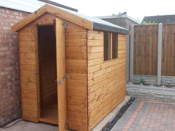 4ft x 6ft Shed