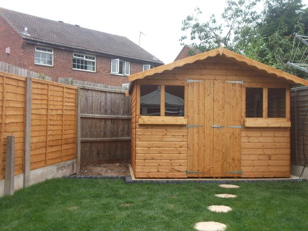 10ft x 8ft Summer House plus 1ft Overhang