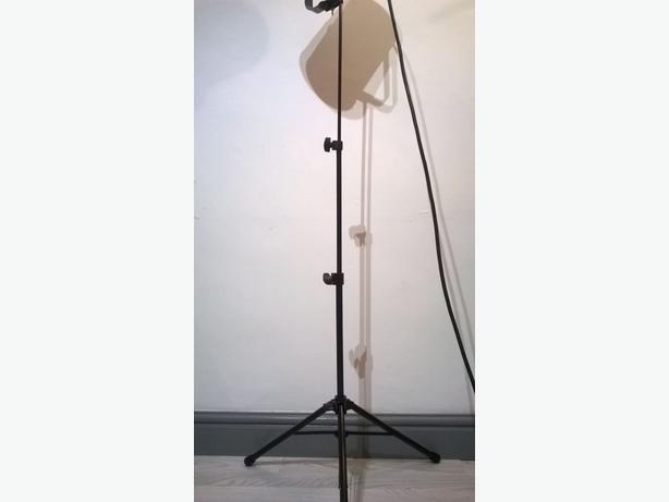 stage lamp telescopic tripod base