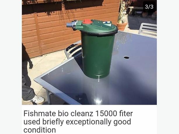 koi pond pressure filter