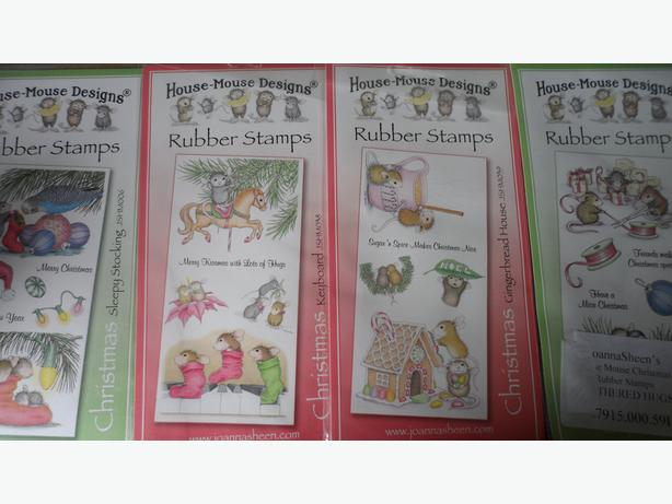 BARGAIN over 100 rubber/wooden craft stamps and inks