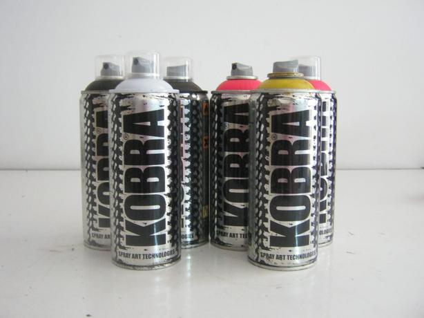 Kobra Spray Paint 400Ml (6 FOR £10)