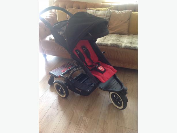 Phil Teds Dot Pushchair With Buggy Board