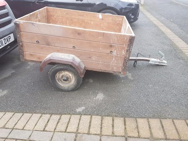 box trailer camping builders car boot trailer