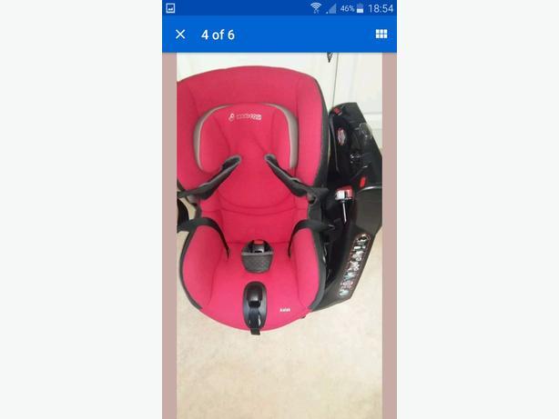 Maxi Cosi Axiss Red Car Seat