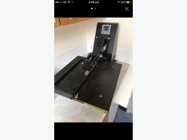 t-shirt printing heat press