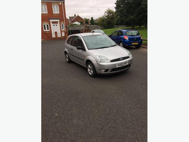 FIESTA 1.4 TDCI ZETEC RUNS AND DRIVES REALLY WELL (BARGAIN)