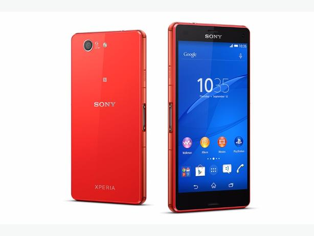 sony xperia z3 compact red