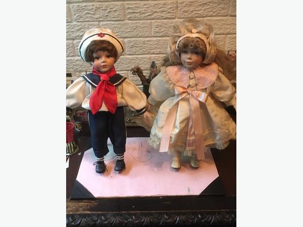 jack and jill dolls