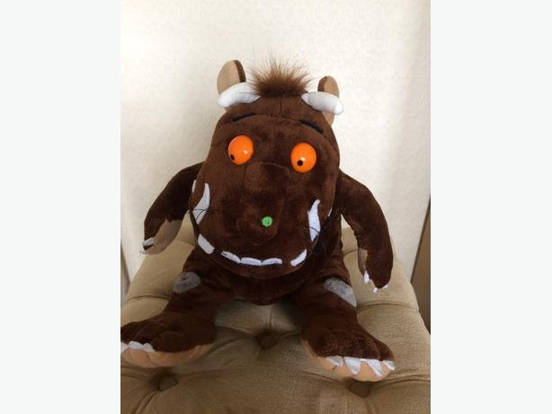 "Gruffalo Soft Toy 14"" & puzzles"