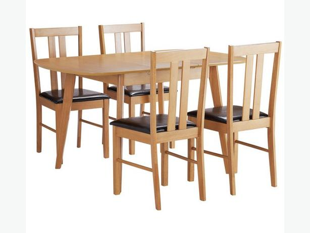 Extendable dinning table - Witley solid wood (544/0672 on Argos)