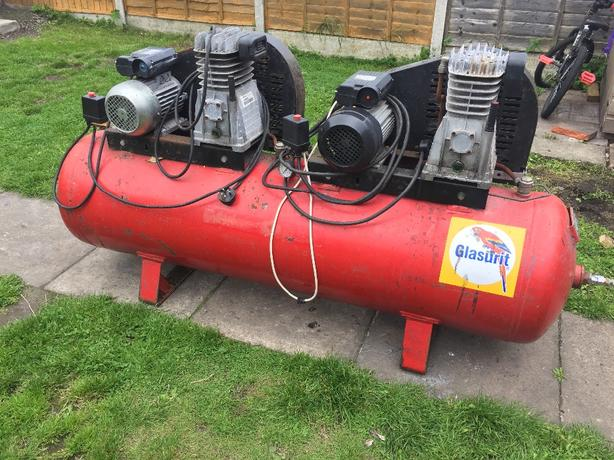 Air Compressor 300 Litre Single Phase