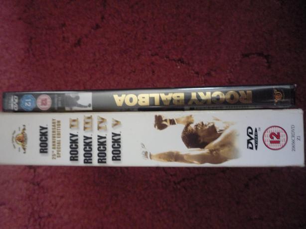 rocky dvds