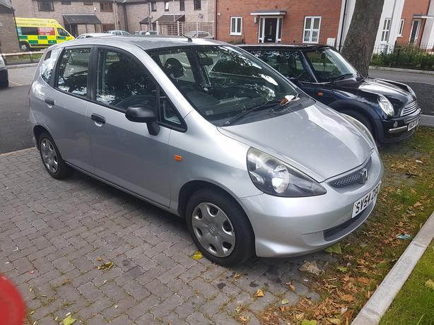 2004 HONDA JAZZ 1.3 IN VERY GOOD CONDITION MOT OCT £750