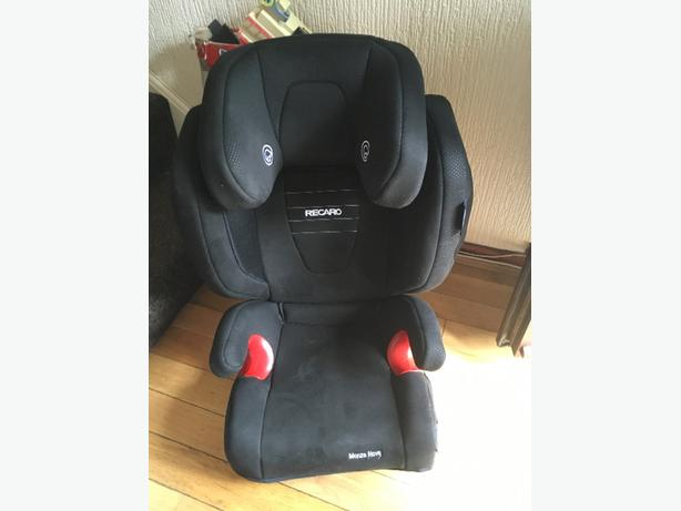 Recaro monzo nova 2 high back booster seat