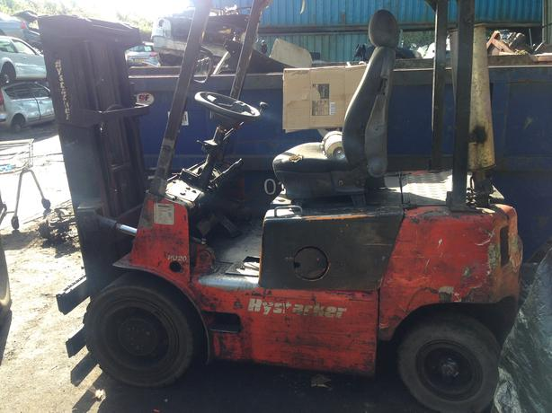 FORKLIFT TRUCK HYSTACKER 3 TON FOR SALE SPARES OR FOR REPAIR £999