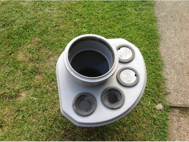 Polypipe soilpipe manifold