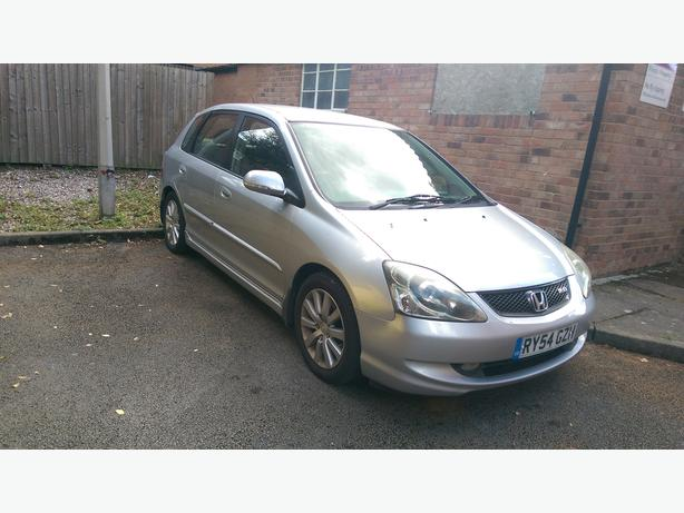 Honda civic type S 2.0 petrol with half leatherFSH and cruise control