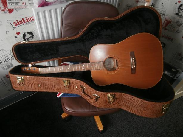 FENDER DG-25s ns acoustic guitar