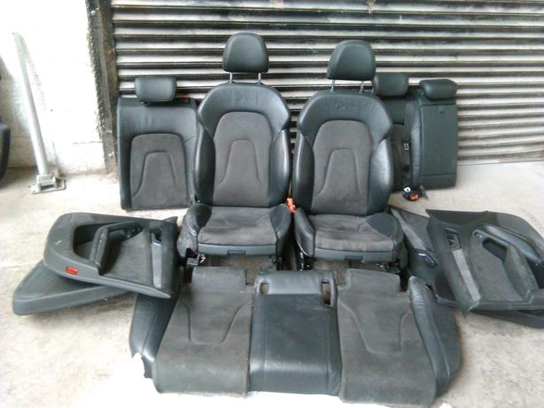 Audi a4's line full interior door cards .seats 2009