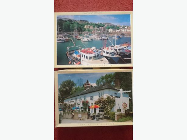 x2 1,000 piece jigsaw puzzles £1.75 each or both for £3